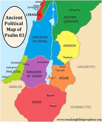 mapa de moab