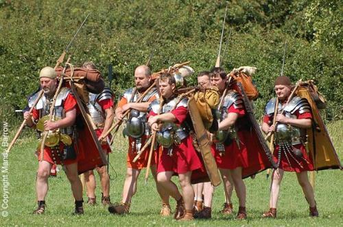 soldados romanos